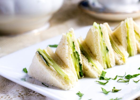 Cucumber and Mint Sandwich