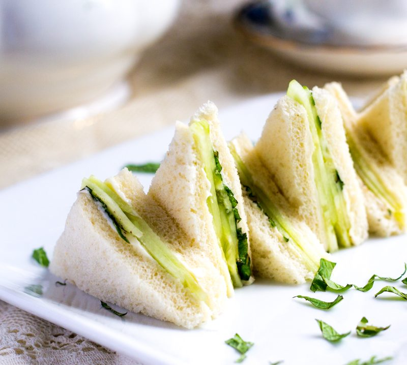Cucumber and Mint Sandwich Recipe