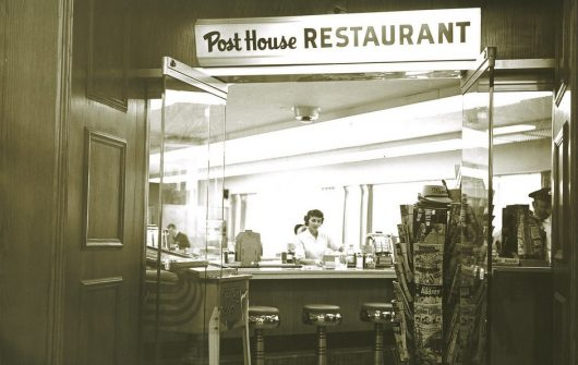 Post House Restaurant, circa 1945