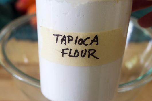 tapioca flour for Rustic Peach Galette