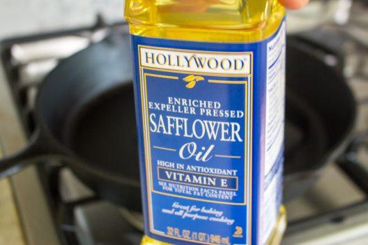 safflower oil for Skillet Steak Dinner Recipe
