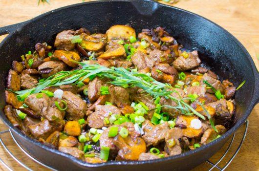 Skillet Steak Dinner