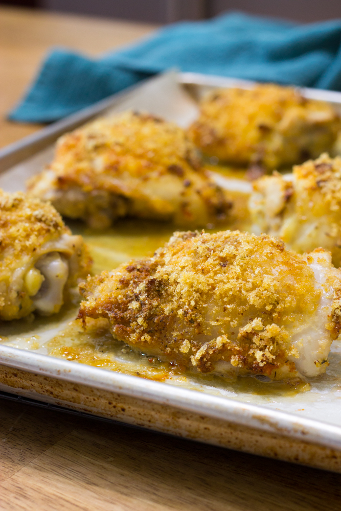 Crispy Keto Sheet Pan Chicken