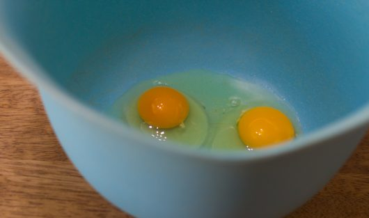 large, room-temperature eggs