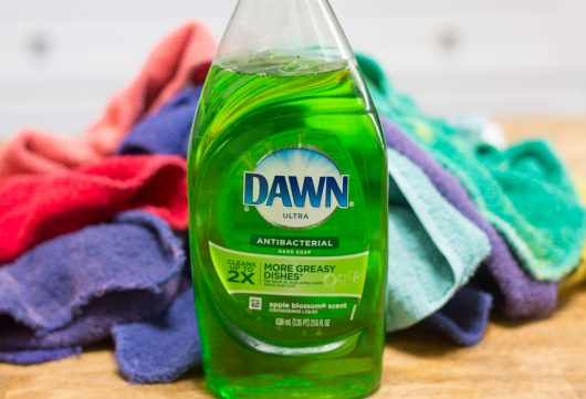 dawn detergent -- a good de-greaser