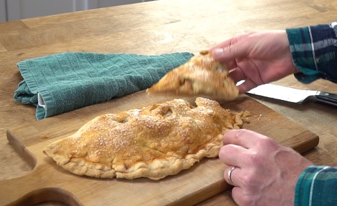 Apple Fold Over Pie Recipe