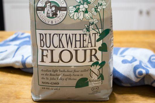 gluten-free buckwheat galettes