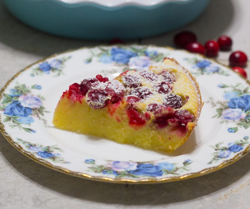 Cranberry Clafouti