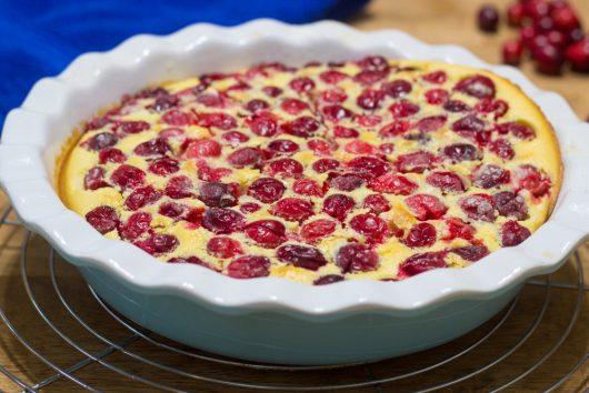 Cranberry Clafouti