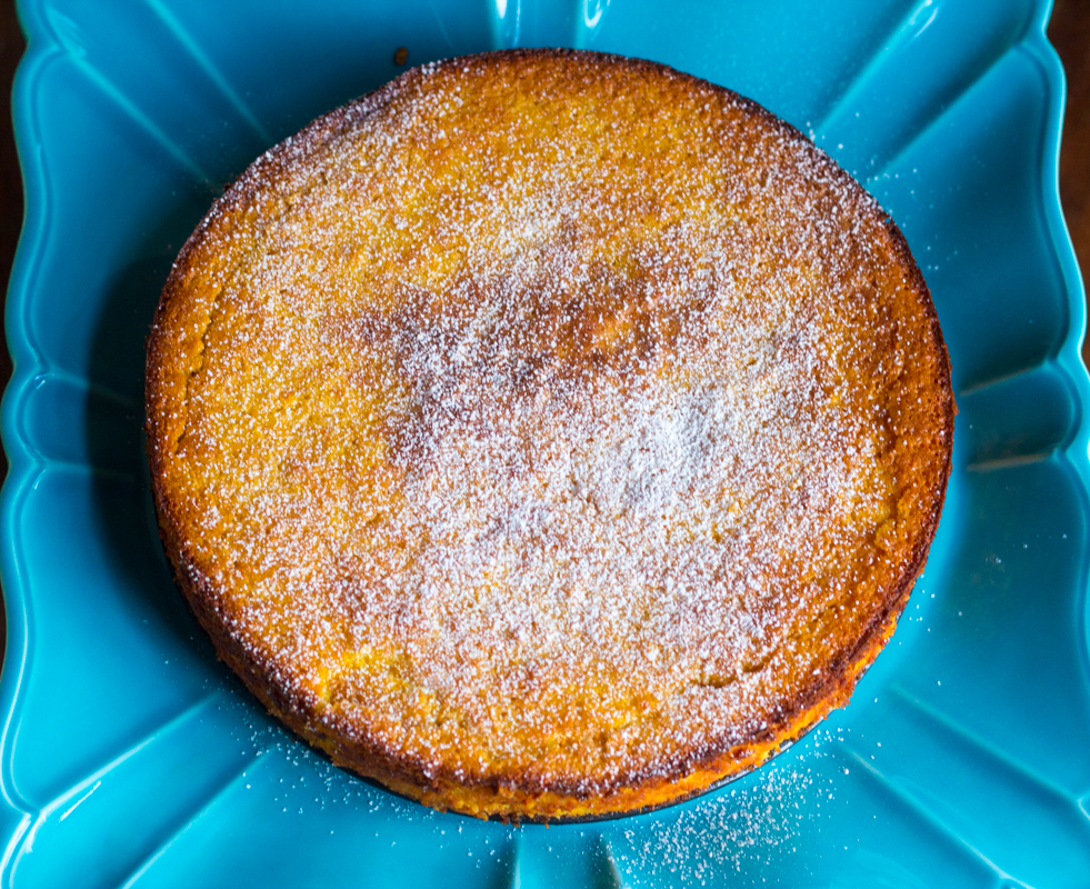 Whole Orange Almond Cake Recipe