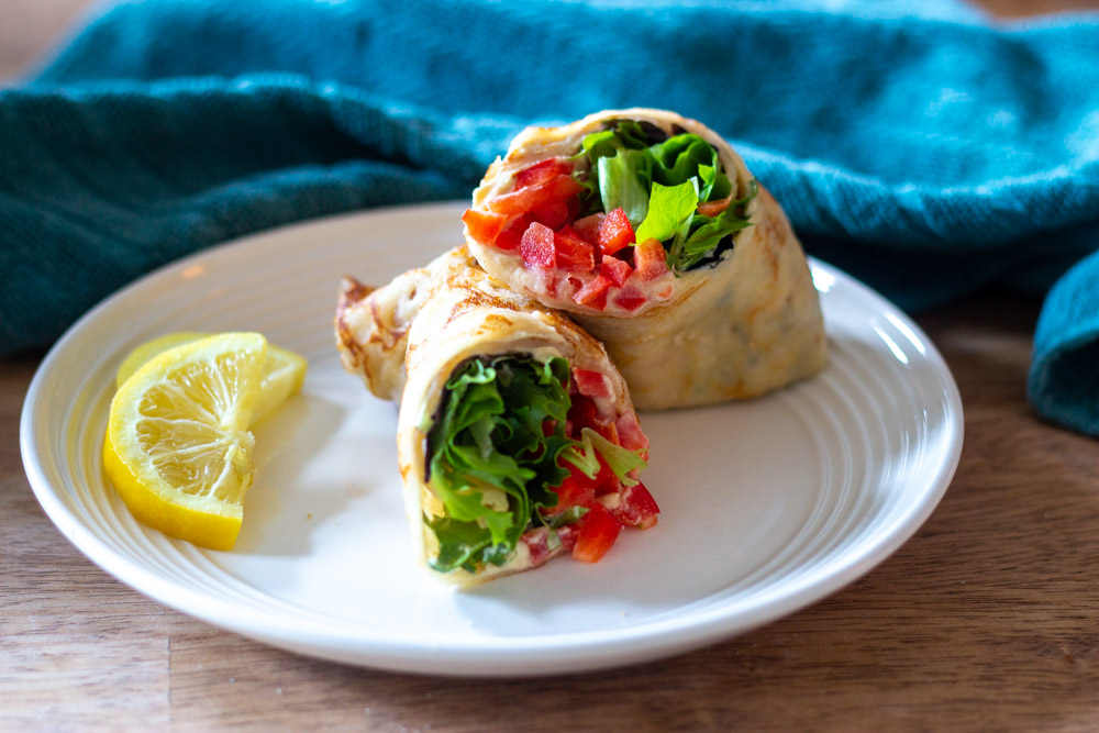 Almond Flour Sandwich Wraps