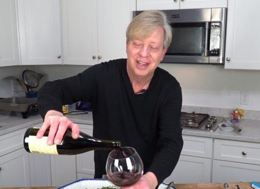 le vin rouge!