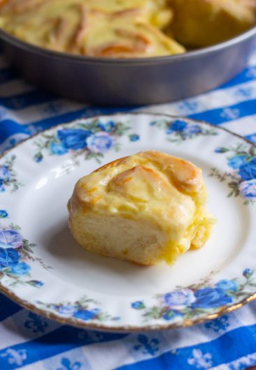 Sweet Orange Rolls Recipe