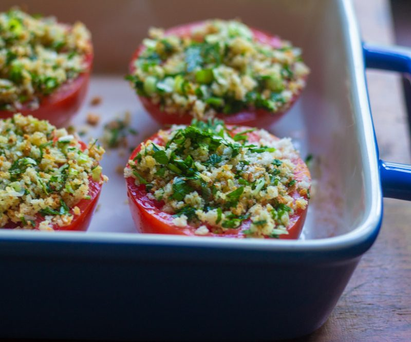 Stuffed Tomatoes Provencal