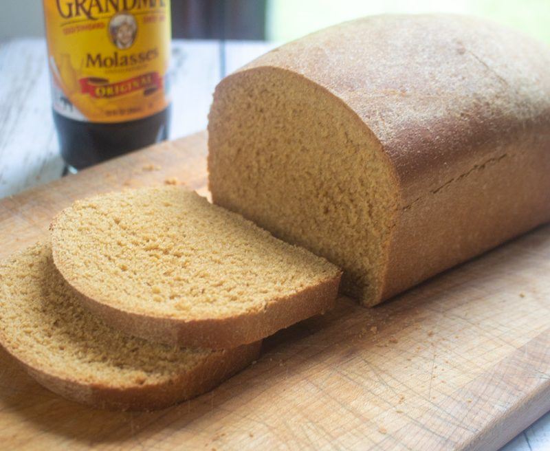 Molasses Whole Wheat Bread