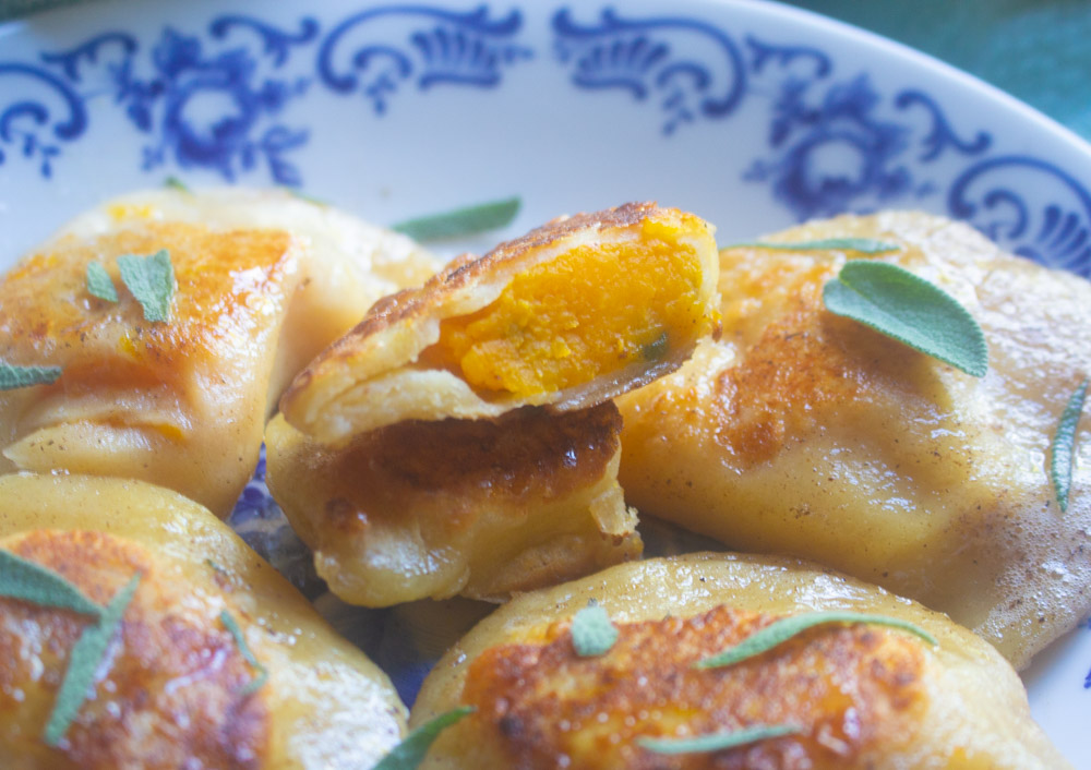 Pierogi with Butternut Squash and Sage