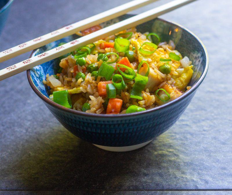 Fried Rice Skillet Dinner