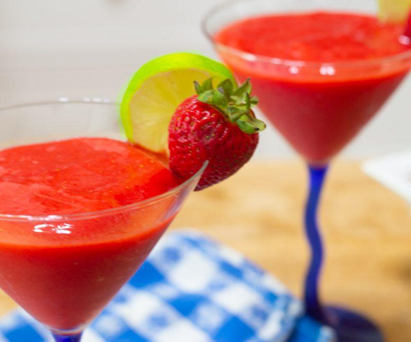 Frozen Strawberry Daiquiri Recipe