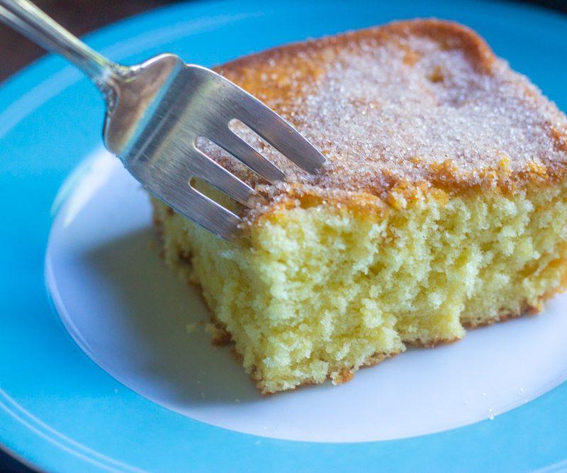 1950s Sweet Cream Cake