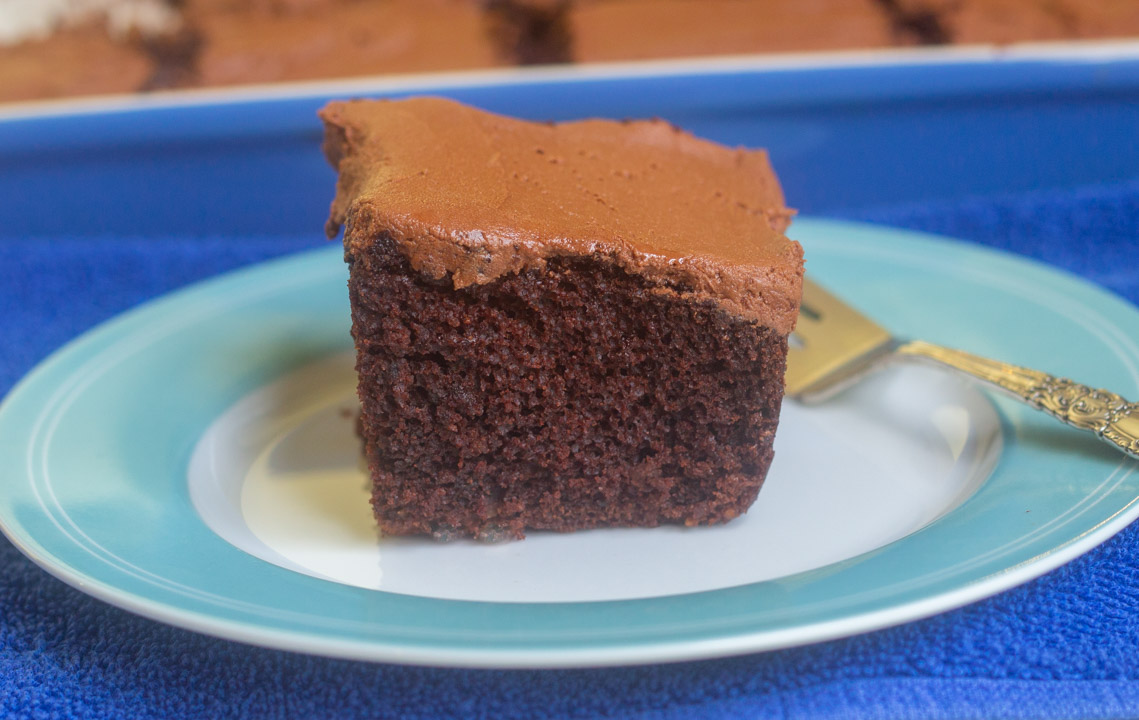 1930s Chocolate Mayonnaise Cake