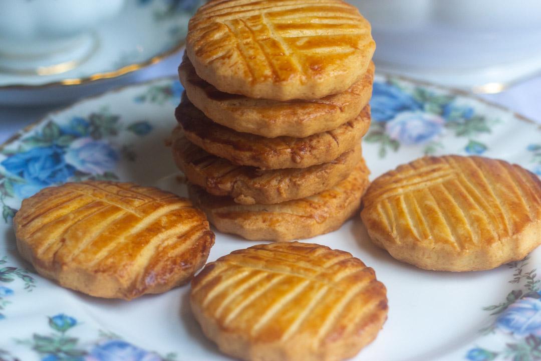French Butter Cookies (Sablé Breton)